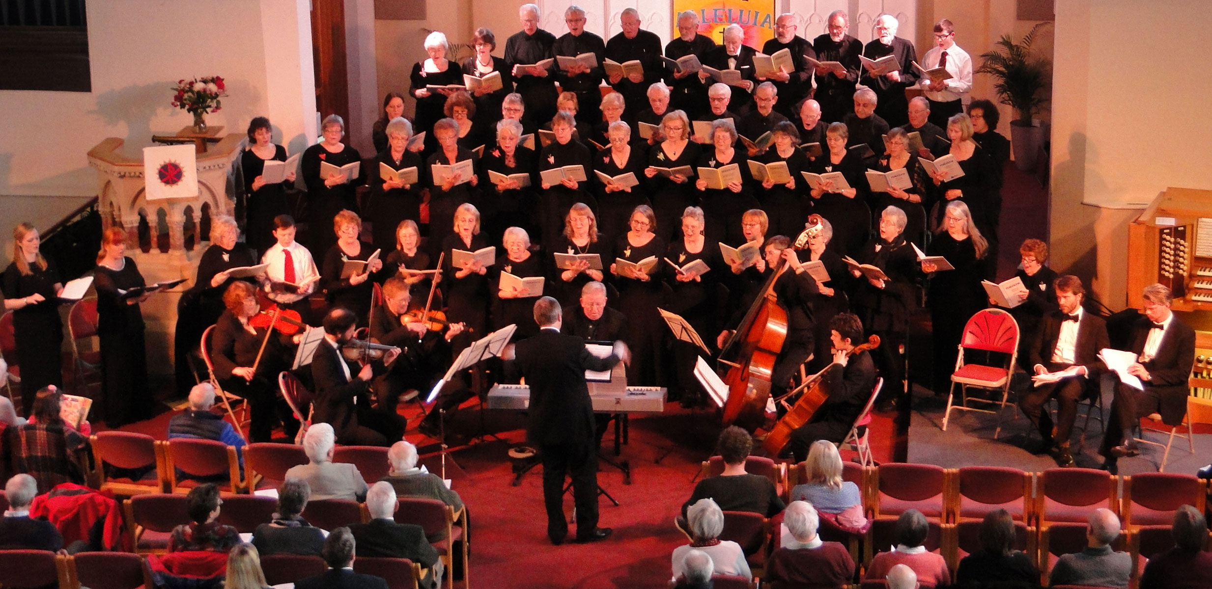 <b>Spring Concert with Orchestra &#8211; Magnificat/St. John Passion &#8211; 16th April 2016</b><br> Saturday 16th April 2016 - Spring Concert with Orchestra