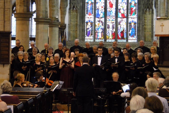 <b>Spring Concert &#8211; Purcell, Handel, Mozart &#8211; 13th May 2017</b><br>